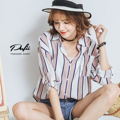 PUFII - Striped Blouse