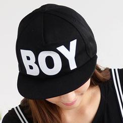 59 Seconds -  'Boy' 印花棒球帽