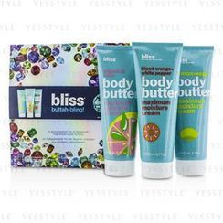 Bliss - Buttah Bling Holiday Set: Lemon + Sage + Blood Orange + White Pepper + Grapefruit + Aloe