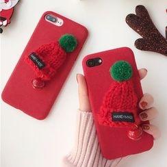 Milk Maid - 帽子裝飾iPhone6/6Plus/7/7Plus手機殼