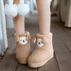 Pangmama - Cartoon Short Snow Boots