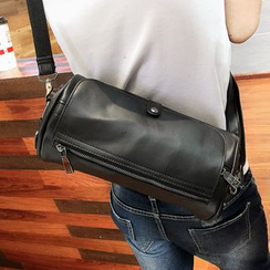 Yiku - Faux-Leather Shoulder Bag