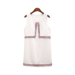 GRACI - Panel Sleeveless Dress