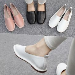 Reneve - Genuine-Leather Slip-Ons