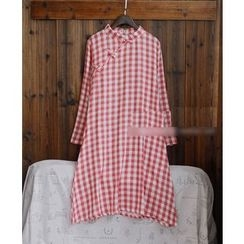 tete - Plaid Qipao