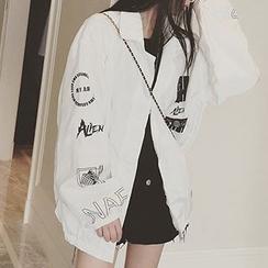 Cloud Nine - Print Zip Jacket
