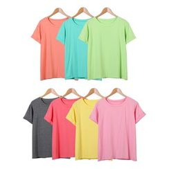 Momewear - Short-Sleeve Cuffed T-Shirt