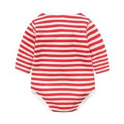 MOM Kiss - Baby Stripe Bodysuit
