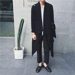 Simsam - Draped Long Jacket