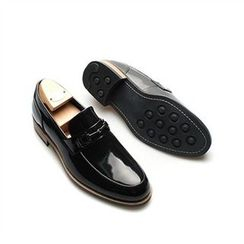 THE COVER - Genuine Leather Buckled Loafers