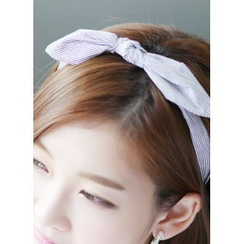 kitsch island - Stripe Bow Headband