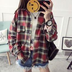 Qimi - Plaid Shirt