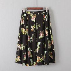 Gatz - Floral Maxi Skirt