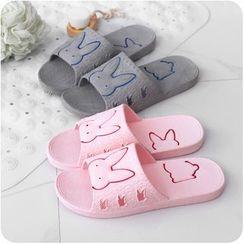 Homy Bazaar - Couple Matching Rabbit Slippers