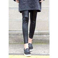 DEEPNY - Faux-Leather Leggings