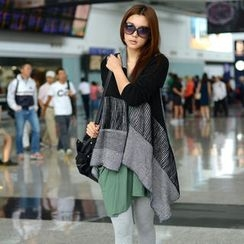 SO Central - Open-Front Oversized Cardigan
