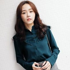 Tokyo Fashion - Long-Sleeve Ruffled Shirt