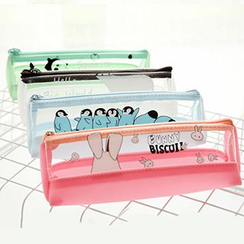 Class 302 - Animal Transparent Pencil Case
