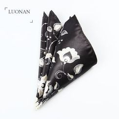 Luonan - Floral Print Pocket Square