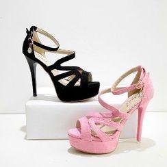 Mancienne - High-Heel Sandals