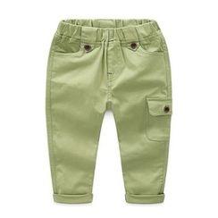 貝殼童裝 - 小童工裝褲