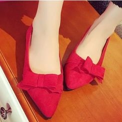 QQ Trend - Bow Pointy Flats