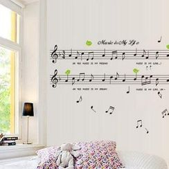 LESIGN - Music Notes Wall Sticker
