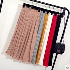 Oaksa - Cropped Wide Leg Pants