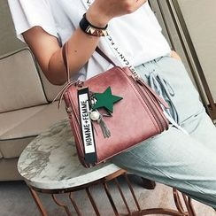 Skyglow - Faux Leather Hand Bag