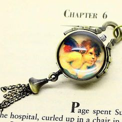 Fit-to-Kill - Angel Pocket Watch - Copper