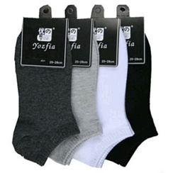MUMBLE - Plain Low Socks
