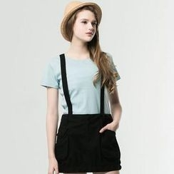 Life 8 - Cross-Strap Jumper Skirt