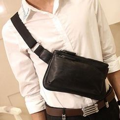 BagBuzz - Faux Leather Waist Bag