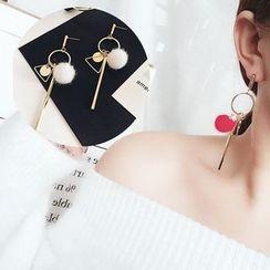 ChuChuAcc - 球球装饰耳环