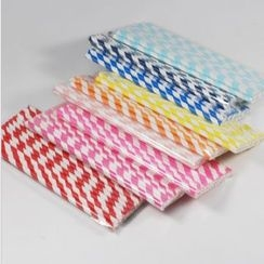 Omedetou! - Set of 25: Paper Drinking Straws