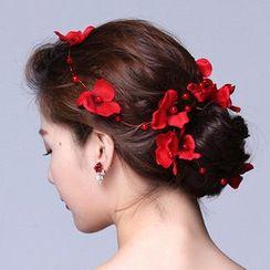 Suaylla - Flower Bridal Hair Piece