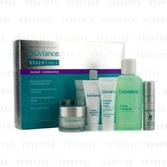 Exuviance - Essentials Kit (Normal/ Combination): Cleansing Gel + Eye Complex + Masque + Evening Complex + Perfect 10 Serum