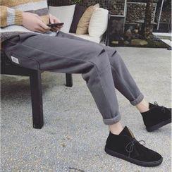 Basique - 做舊窄身褲