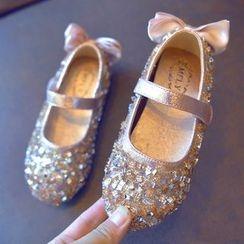 BOOM Kids - 小童闪亮平跟鞋