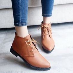 Chryse - 系带及踝靴