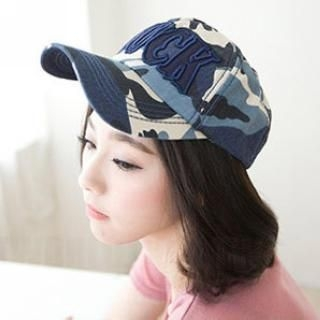 CatWorld - Appliqué Camouflage Baseball Hat