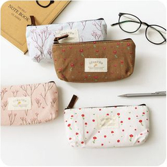 Desu - Floral Print Pencil Case
