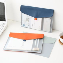 Lazy Corner - Transparent Document Envelope