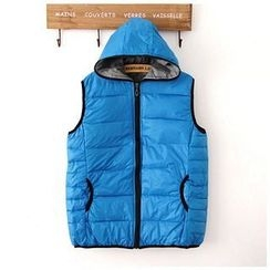 Maymaylu Dreams - Padded Hooded Vest