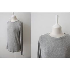 DAILY LOOK - Round-Neck T-Shirt