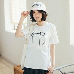 11.STREET - Lettering T-Shirt