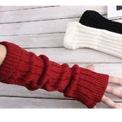 Nirvana Nation - Fingerless Long Gloves