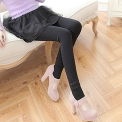 nooyi - Fleece-Lined Stirrup Leggings
