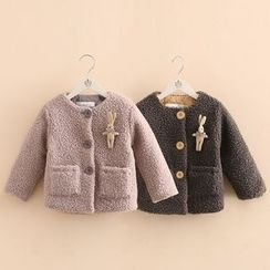 Seashells Kids - Kids Plain Fleece Jacket