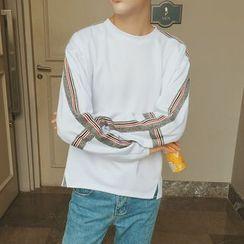 Breeson - Striped Sweatshirt